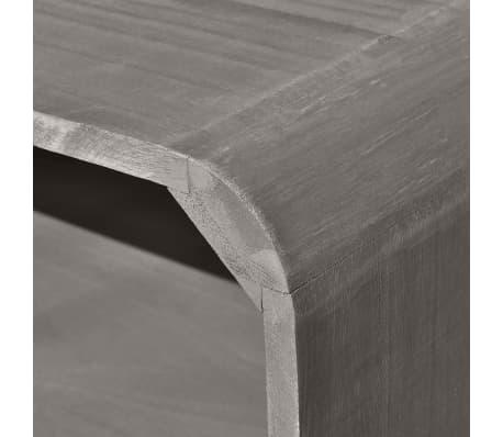 vidaxl couchtisch grau 90 55 5 38 5 cm holz. Black Bedroom Furniture Sets. Home Design Ideas