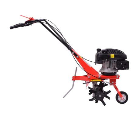 vidaXL Motoenxada motocultivador a gasolina 5 CV 2,8 kW vermelho[3/6]