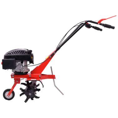 vidaXL Motoenxada motocultivador a gasolina 5 CV 2,8 kW vermelho[2/6]