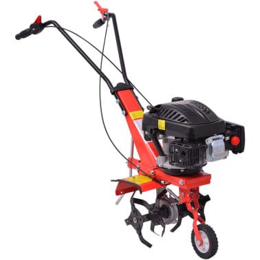 vidaXL Motoenxada motocultivador a gasolina 5 CV 2,8 kW vermelho[4/6]