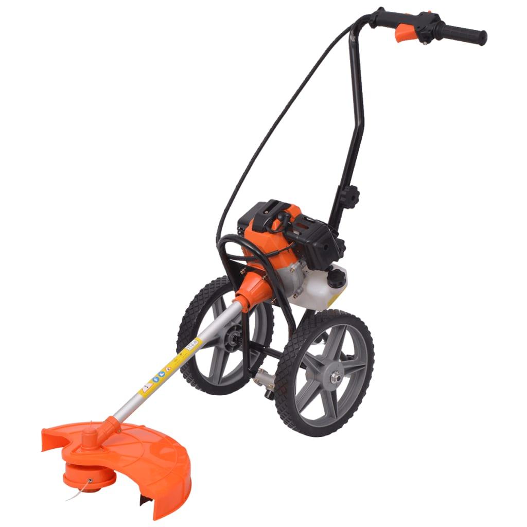 vidaXL Křovinořez oranžovo-černý 52 cm³ 1,9 kW