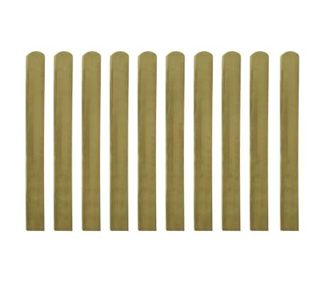 vidaXL Heklatten 100 cm geïmpregneerd FSC hout 10 st[1/2]