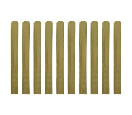 vidaXL Impregnirane ograjne letve 10 kosov FSC les 100 cm[2/2]