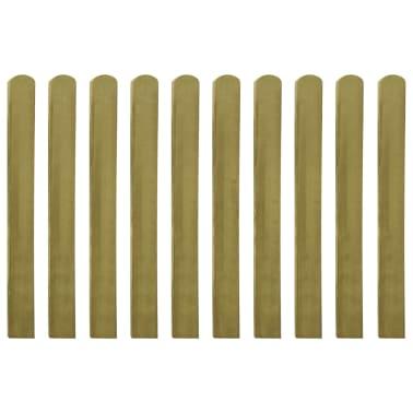 vidaXL Heklatten 100 cm geïmpregneerd FSC hout 10 st[2/2]