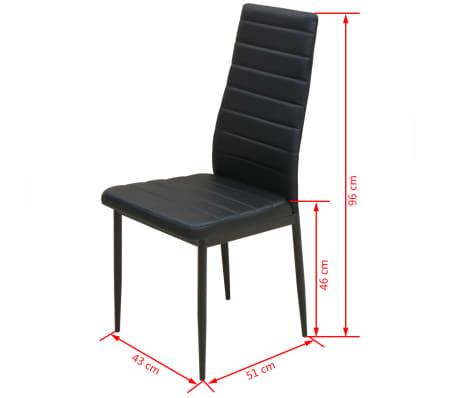 VidaXL 3-dijelni Blagovaonski Set Stol i Stolice[9/10]