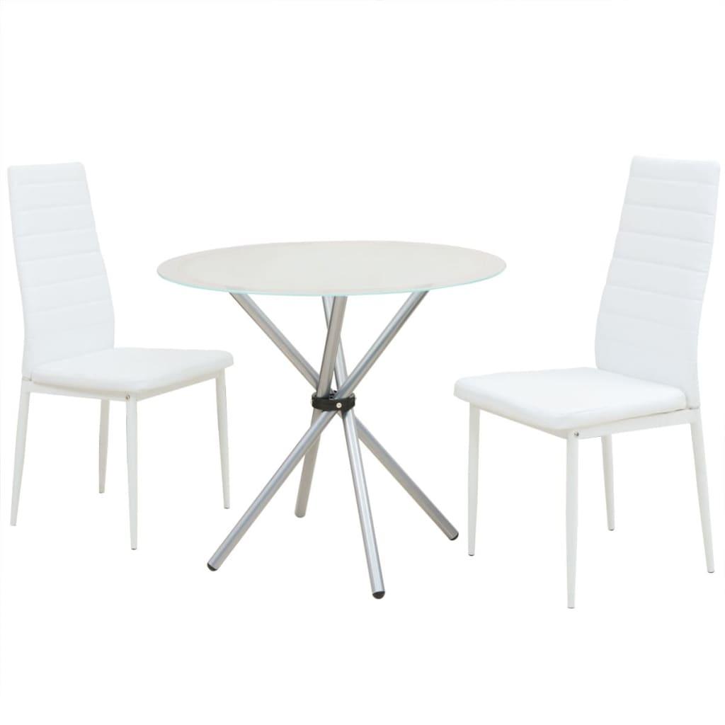 vidaXL Σετ Τραπεζαρίας με Καρέκλες Τριών Τεμαχίων