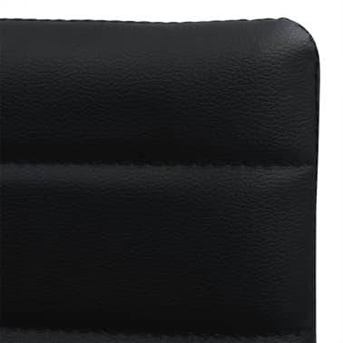vidaXL Ensemble table et chaises de salle à manger 5 pcs en simili cuir[6/9]
