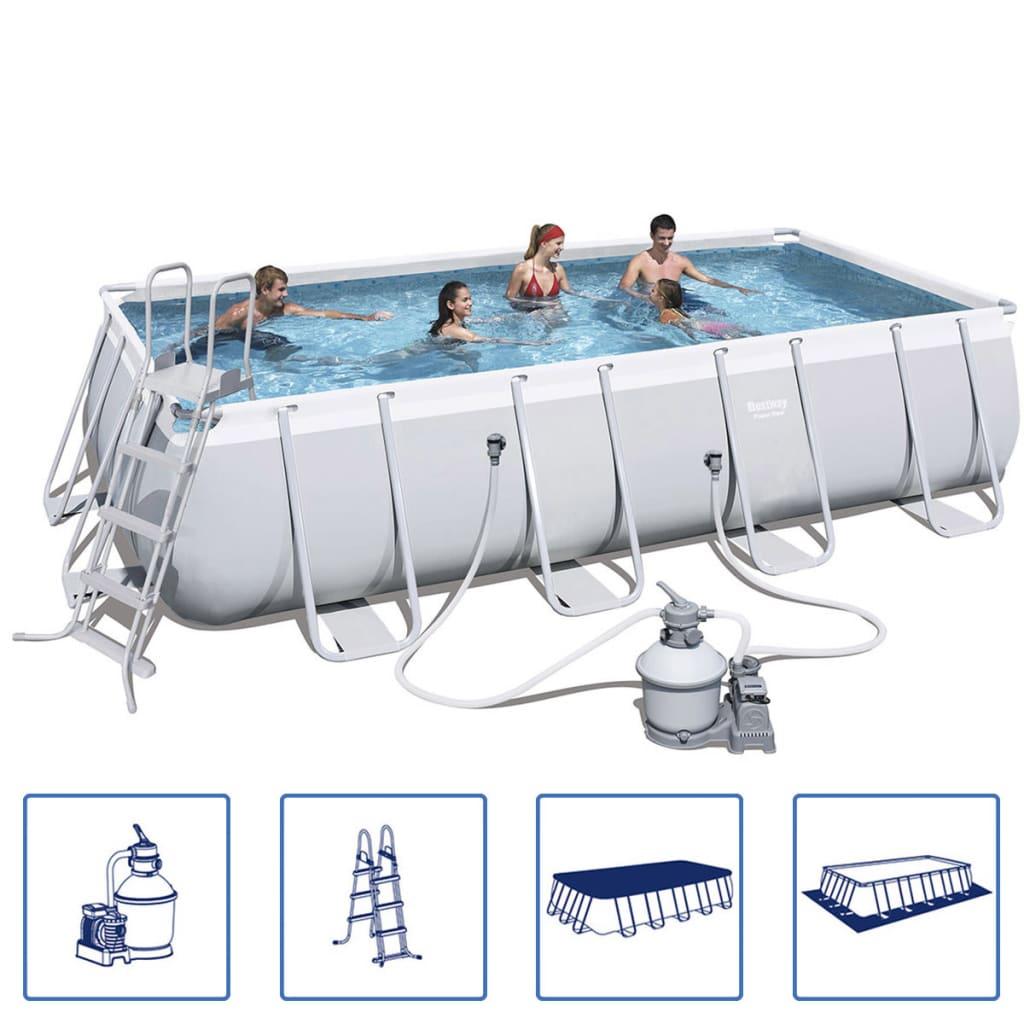 Bestway Power Steel Bazén set s ocelovým rámem 549x274x122 cm 56466