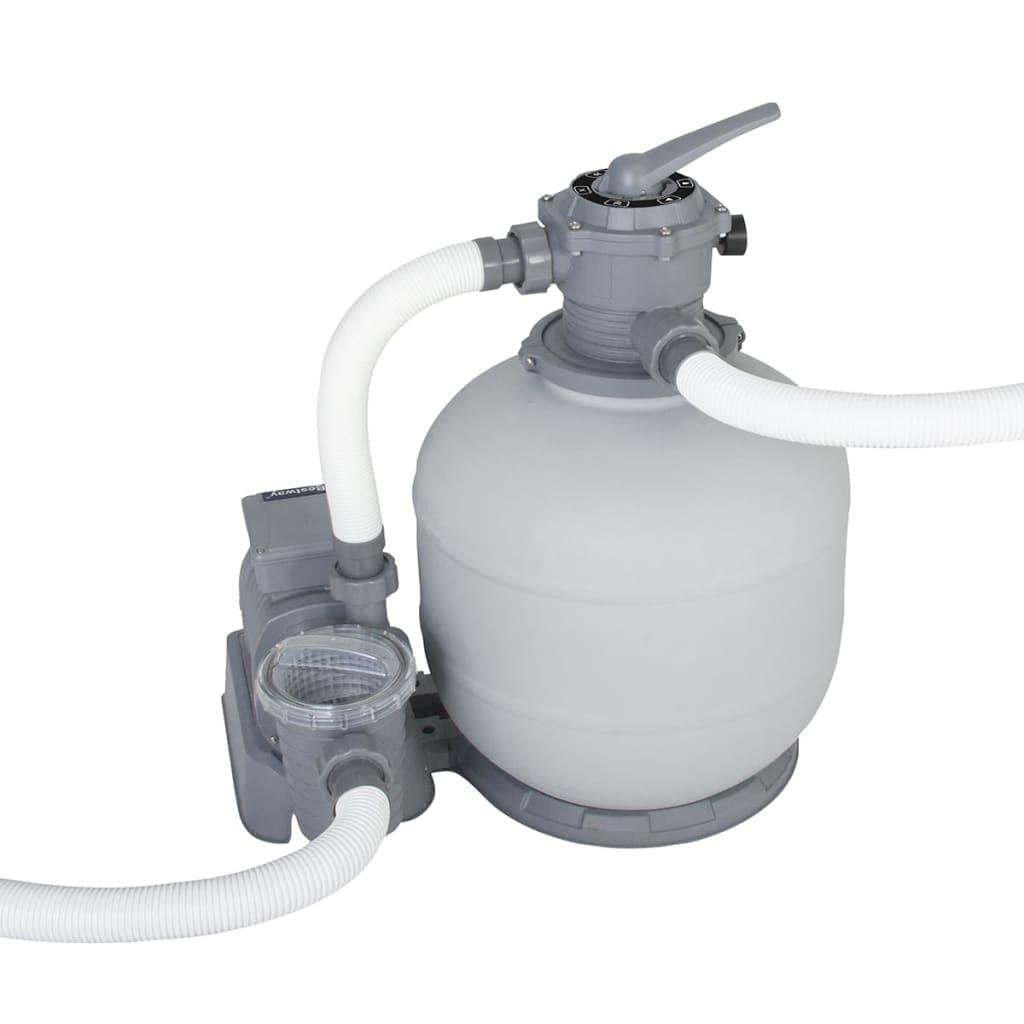 Bestway Flowclear Pompă filtrare cu nisip, 7571 L/h, 58366 poza vidaxl.ro