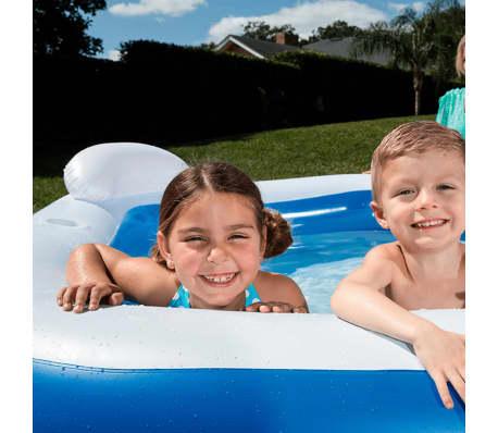 Bestway Kids' Play Pool Blue 213x207x69 cm 54153[4/9]