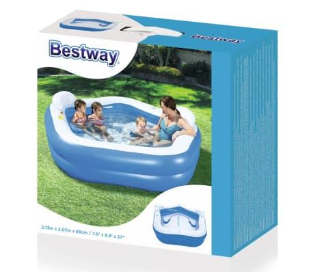 Bestway Kids' Play Pool Blue 213x207x69 cm 54153[9/9]