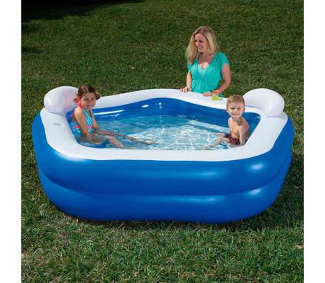 Bestway Kids' Play Pool Blue 213x207x69 cm 54153[1/9]