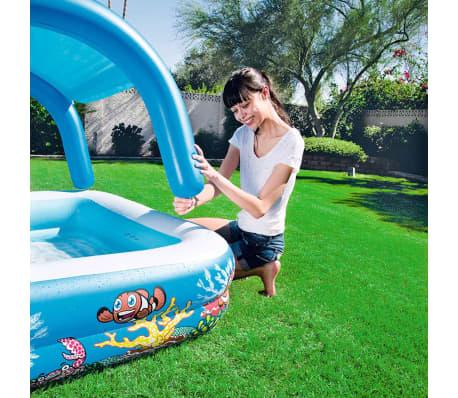 bestway baldachin spiel pool blau 147x147x122 cm 52192 g nstig kaufen. Black Bedroom Furniture Sets. Home Design Ideas