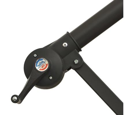 """vidaXL Cantilever Umbrella 137.8"""" Green[7/8]"""