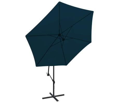 """vidaXL Cantilever Umbrella 118.1"""" Blue[2/8]"""