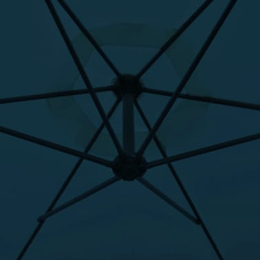 """vidaXL Cantilever Umbrella 118.1"""" Blue[3/8]"""