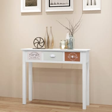 vidaXL French Console Table Wood[1/6]