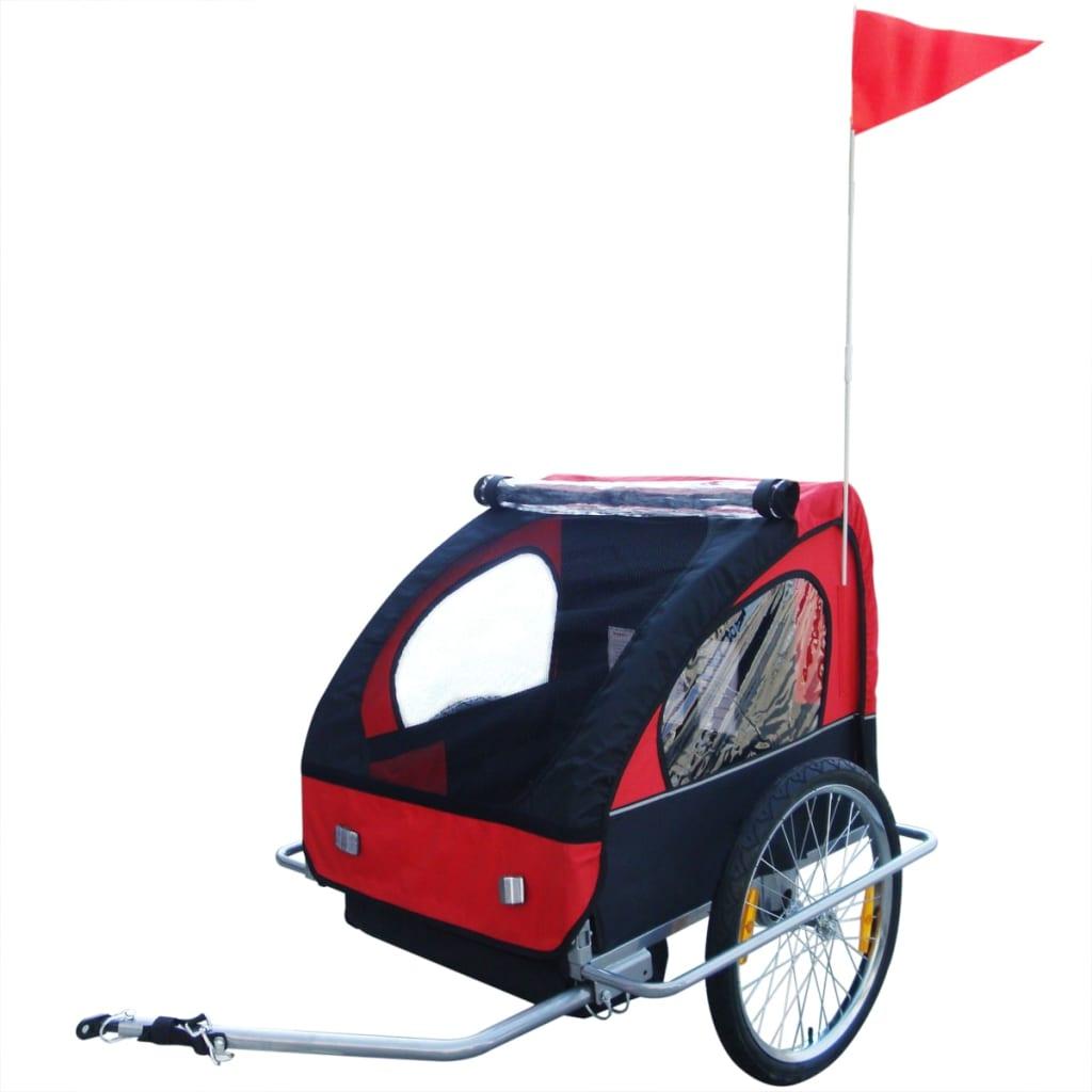 vidaxl-kids-bicycle-trailer-red-36-kg