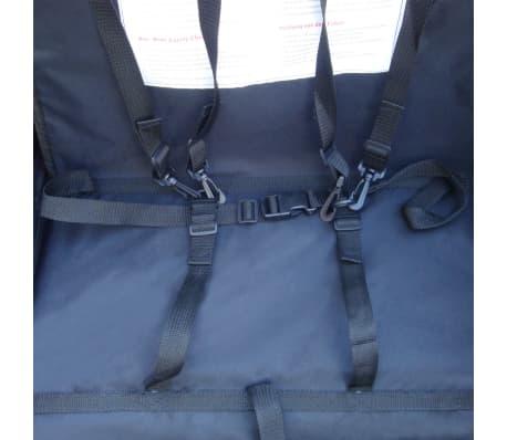 vidaXL Remorque de vélo pour enfant Rouge 36 kg[5/5]