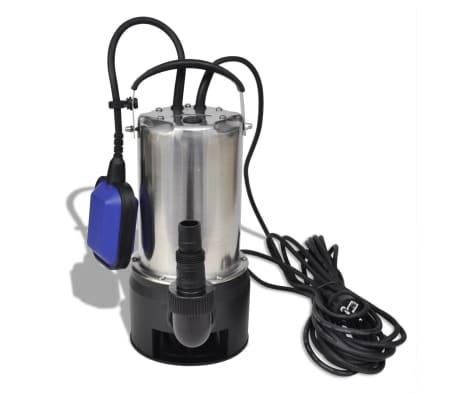 vidaXL dykpumpe til snavset vand 1100 W 16.500 l/t[2/5]