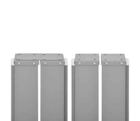 vidaXL Ausziehbare Seitenmarkise 160x600 cm Creme[6/7]