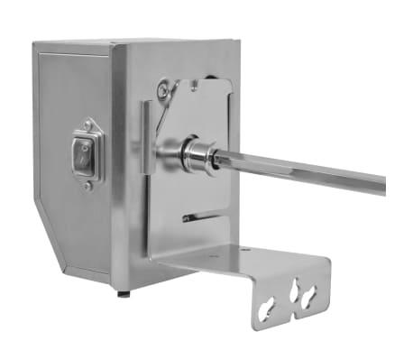 vidaXL BBQ rotisseriespyd med professionel motor stål 900 mm[4/8]