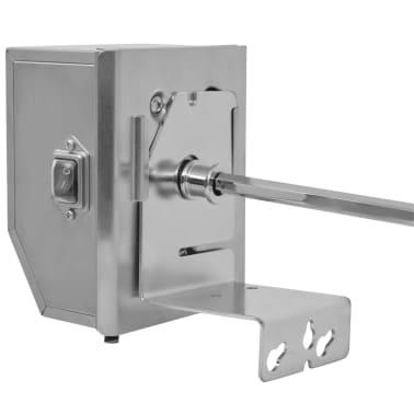vidaXL BBQ Rotisserie-spyd med Profesjonell Motor Stål 900 mm[4/8]