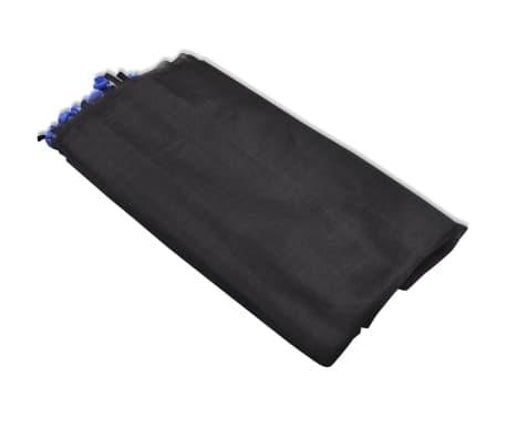 vidaXL Apsauginis tinklelis apvaliems batutams, juodas, 4,57 m[3/5]