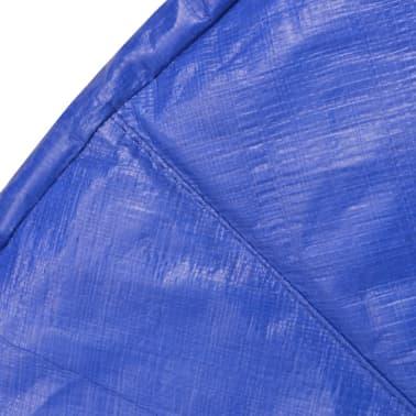 vidaXL Kantskydd PE blå för 12 fot/3,66 m rund studsmatta[3/4]