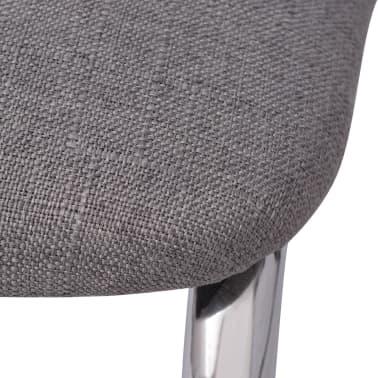 vidaxl esszimmerstuhl grau stoff zum schn ppchenpreis. Black Bedroom Furniture Sets. Home Design Ideas