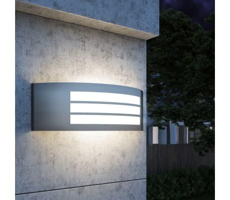vidaXL Außenwandlampe Edelstahl[1/6]