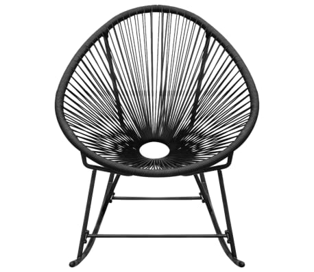 Outdoor furniture additionally Viewtopic also Metal Sun Loungers additionally Patio set moreover Vidaxl Garden Rocking Chair Poly Rattan Black. on white rattan garden furniture