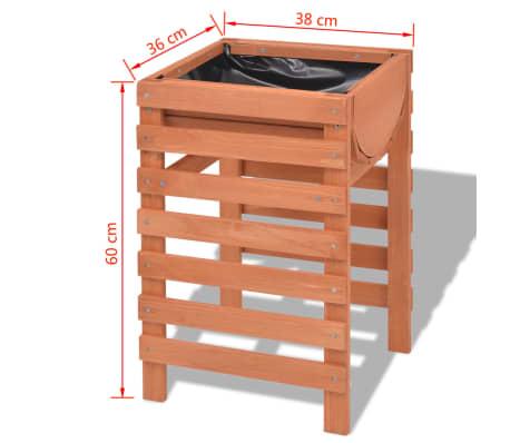 vidaxl blumenk bel 38x36x60 cm holz g nstig kaufen. Black Bedroom Furniture Sets. Home Design Ideas