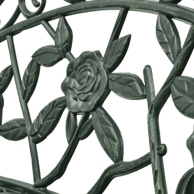 vidaXL aiapink, 100 cm, valualumiinium, roheline[3/4]