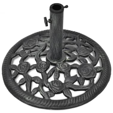 vidaXL Umbrella Base Cast Iron 12 kg 48 cm[2/7]