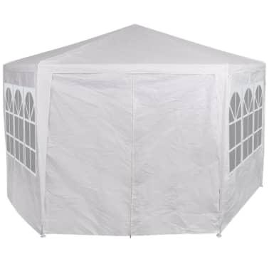 vidaXL Partytent met 6 zijwanden 2x2 m wit[2/13]