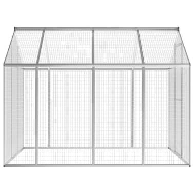 vidaXL Außenvoliere Aluminium 178x242x192 cm[2/5]
