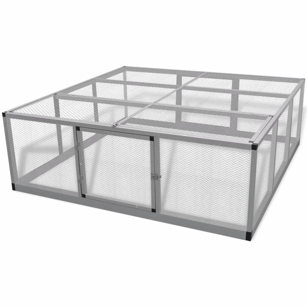 Large Chicken Coop Poultry Hutch Hen House Run Nest Wire Mesh ...