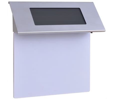 vidaXL Solarna LED Svjetiljka za Kućanski Broj Nehrđajuće Željezo[1/5]
