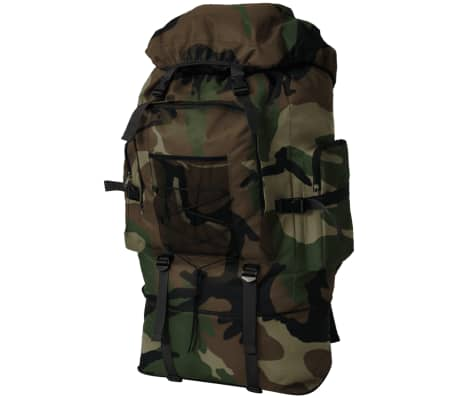 vidaXL Army-Style Backpack XXL 100 L Camouflage[1/6]