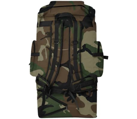 vidaXL Army-Style Backpack XXL 100 L Camouflage[4/6]