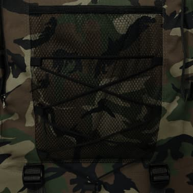 vidaXL Army-Style Backpack XXL 100 L Camouflage[6/6]