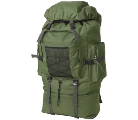 vidaXL Army-Style Backpack XXL 100 L Green