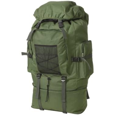 vidaXL Army-Style Backpack XXL 100 L Green[1/6]
