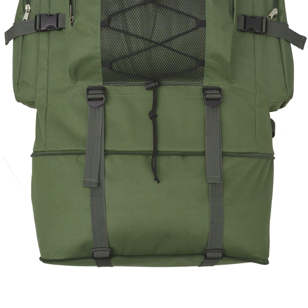 Nahrbtnik Vojaški Stil 100 L Zelene Barve