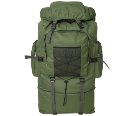 vidaXL Army-Style Backpack XXL 100 L Green[2/6]