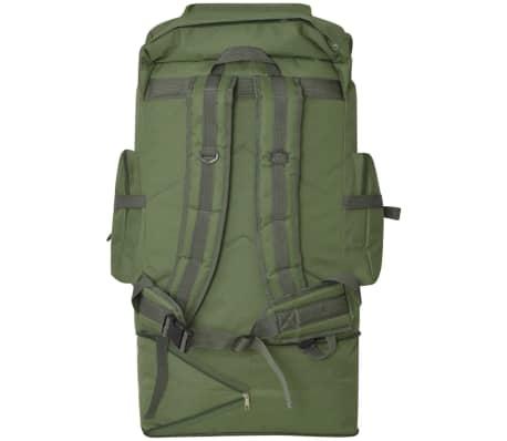 vidaXL Army-Style Backpack XXL 100 L Green[4/6]