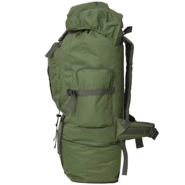 vidaXL Army-Style Backpack XXL 100 L Green[3/6]