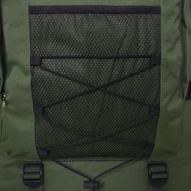 vidaXL Army-Style Backpack XXL 100 L Green[6/6]