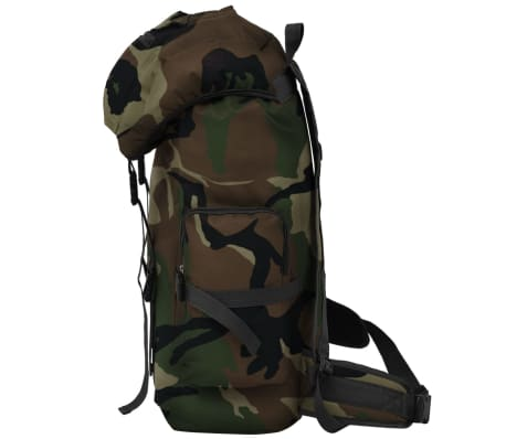 vidaXL Army-Style Backpack 65 L Camouflage[4/7]